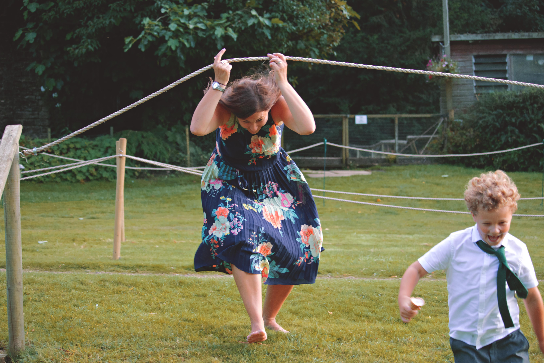 Fun Wedding Guest Photography for Surrey Wedding