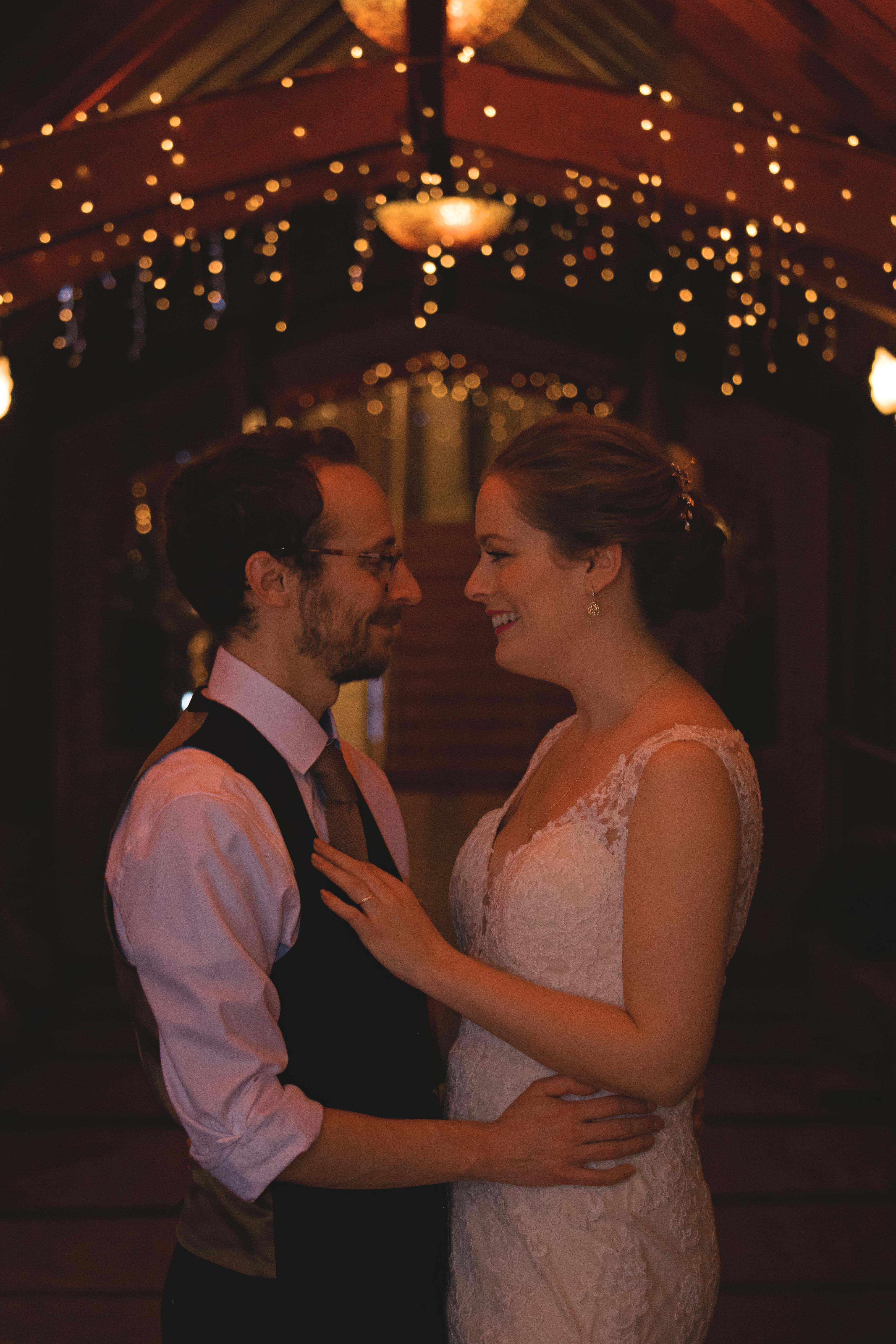 Romantic Couple Shots Winter Wedding in Surrey