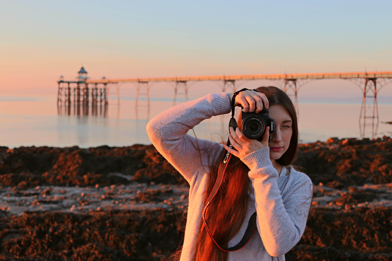 Clevedon Pier Megan McAdam Photography Photography Portrait