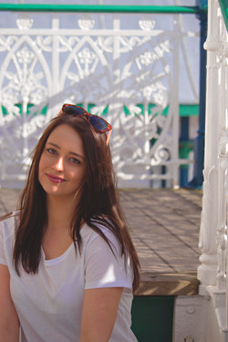 Relaxed Branding Photos at Clevedon Pier