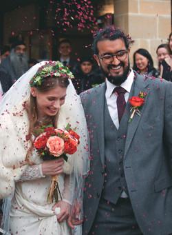 Bath Wedding Confetti Shot