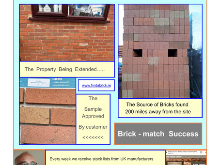 Successful brick-matching is No Accident !