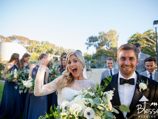 A San Diego Winter Beach Wedding!