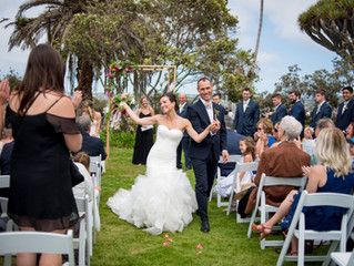 A Perfect La Jolla Wedding Sealed with a Kiss!