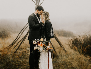 Wolf Feather Honey Farm Wedding!