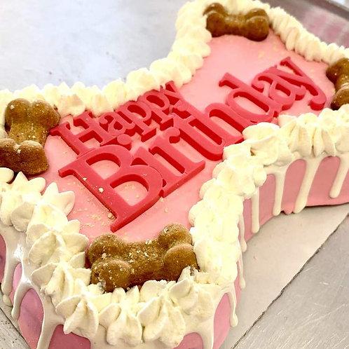 Dog Cakes | Bone Cake by Bow Wow Dog Bakery