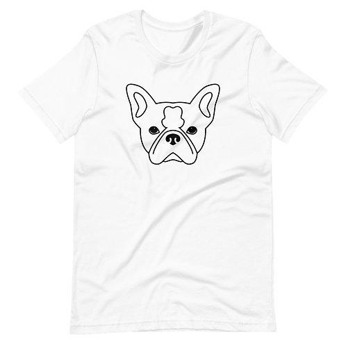 Rogu the Frenchie Short-Sleeve Unisex T-Shirt