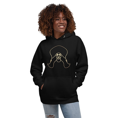 Mimo the Poodle Unisex Hoodie