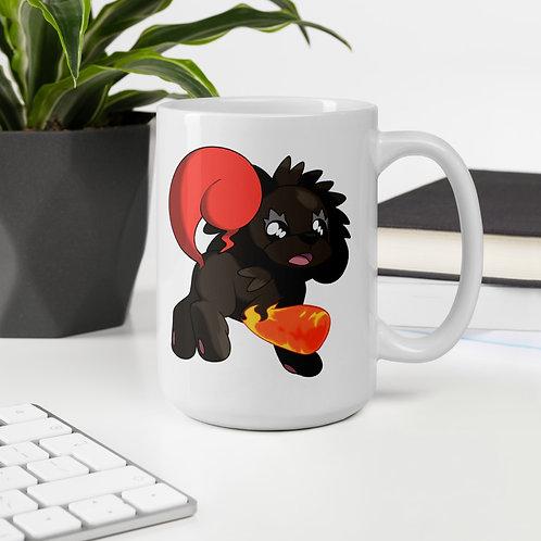 Blublaze Mug design by @stARTboii