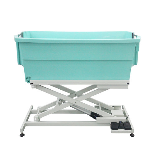 BTS-132P Plastic Bathing Tub with Electric Lifting and Overhead Grooming Arm