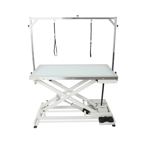 Shernbao FT-829 Electric Scissor Lift Grooming Table w/ LED Lighting Table Top