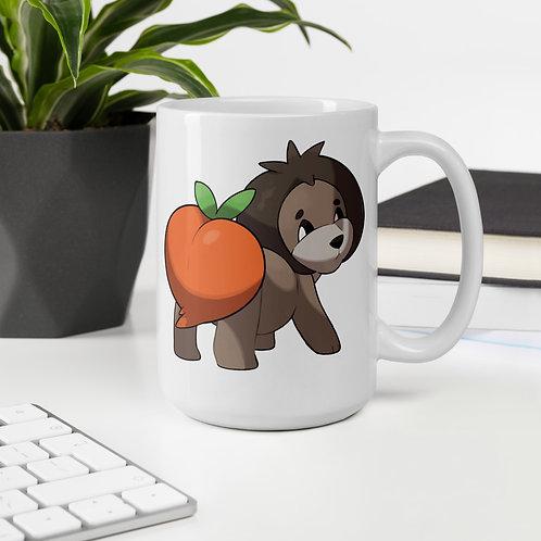 Peachow Mug design by @stARTboii