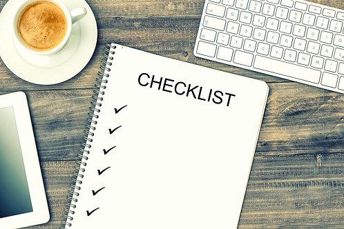 Interviewing Checklist