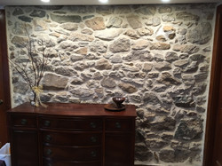 Restored Stone Accent Wall