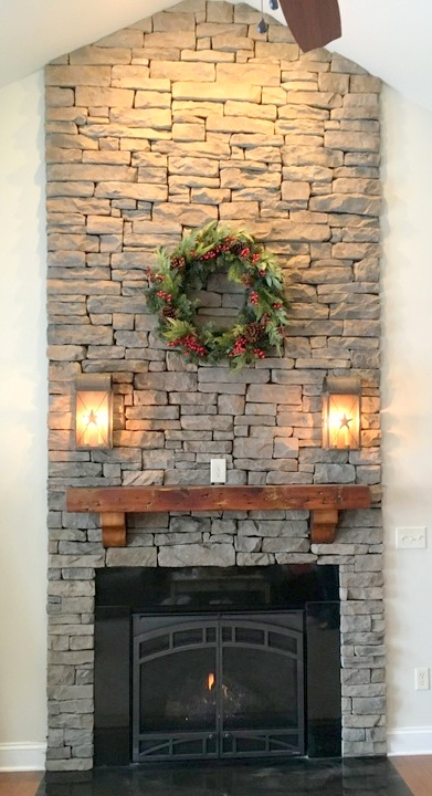 Gorgeous Interior Fireplace