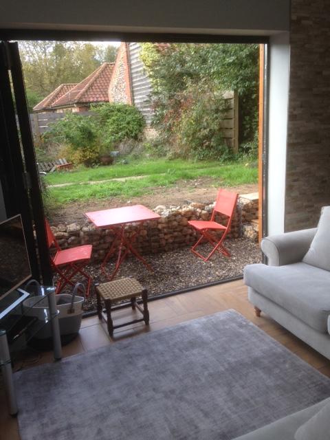 hayloft patio inside open
