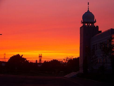 Sik - gurdwara sunset.jpg