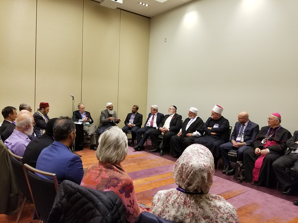 Canadian Jewish & Muslim leaders in a closed door meeting with Israeli diplomats and faith leaders