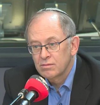 Rabbi Frydamn-Kohl discussing anti-Semitism on the CBC