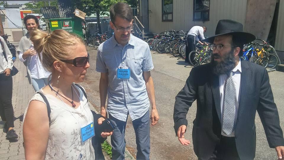 Hasidic Jewish rabbi (Chabad Lubavitch Hasidim)
