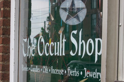 Wiccan Occult shop