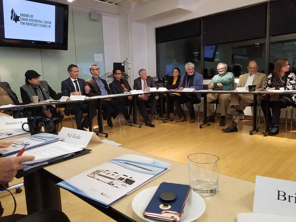 Jews, Christians & Muslims brainstorming under the leadership of Avi Benlolo