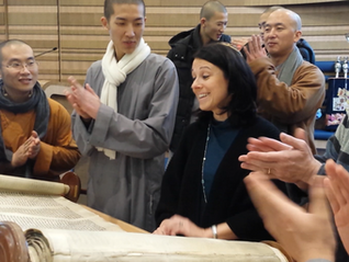 These Buddhist monks walk into a synagogue, a mosque and a Hindu temple...