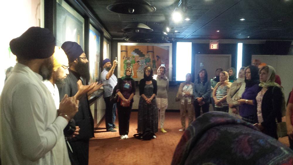 Sikh guides at Ontario Khalsa Darbar (Toronto)