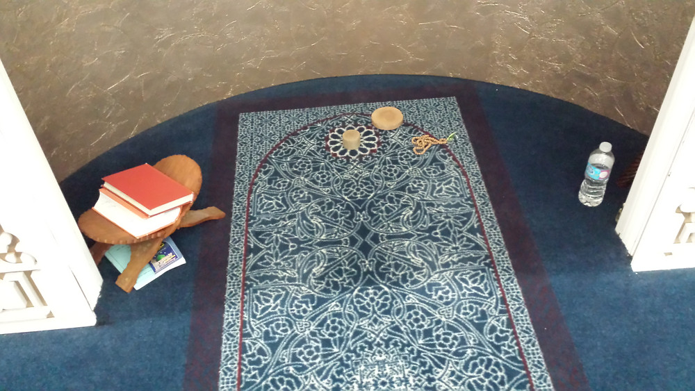 Jaffari mosque - imam prayer spot