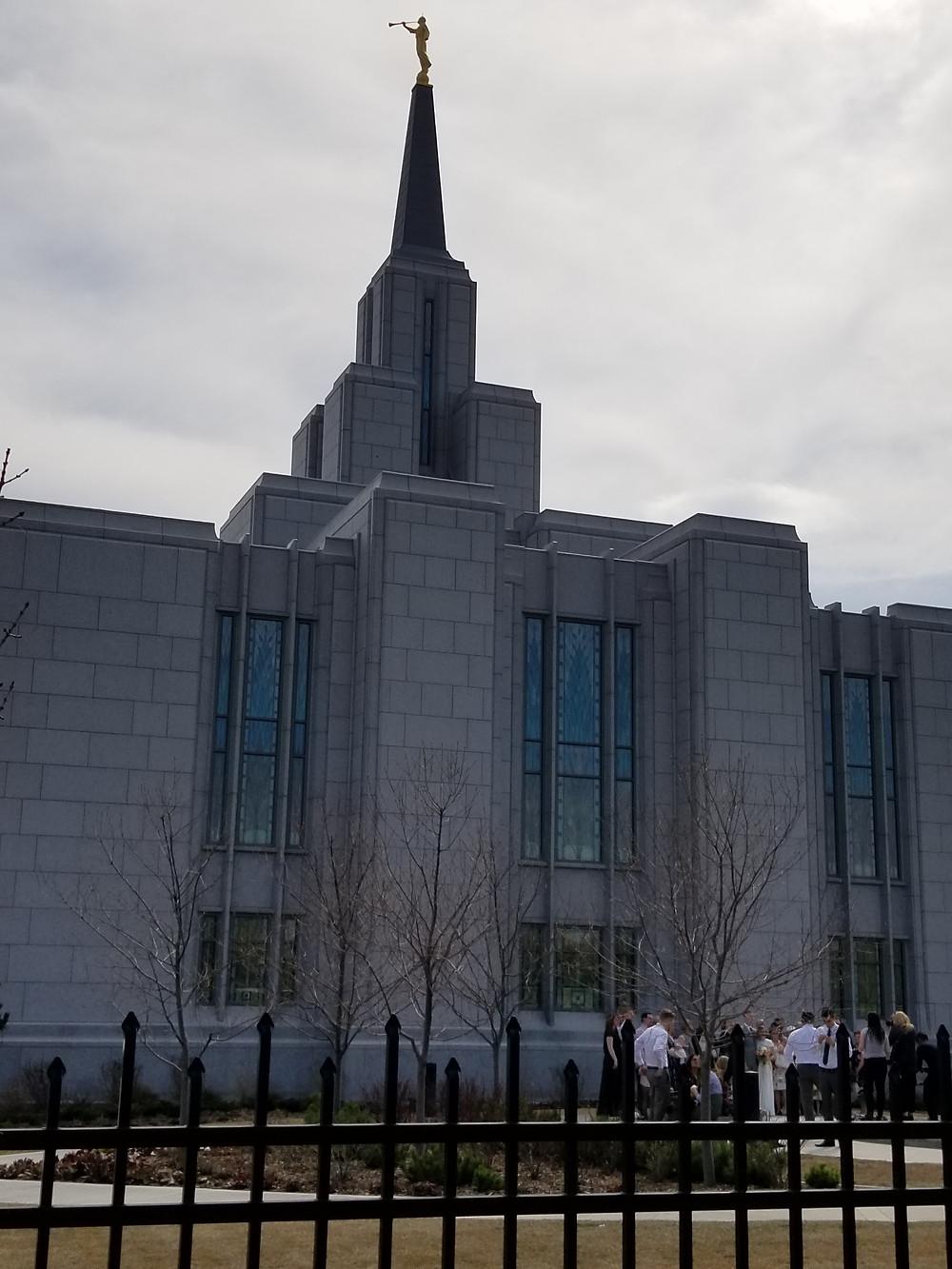 Mormon temple, Calgary