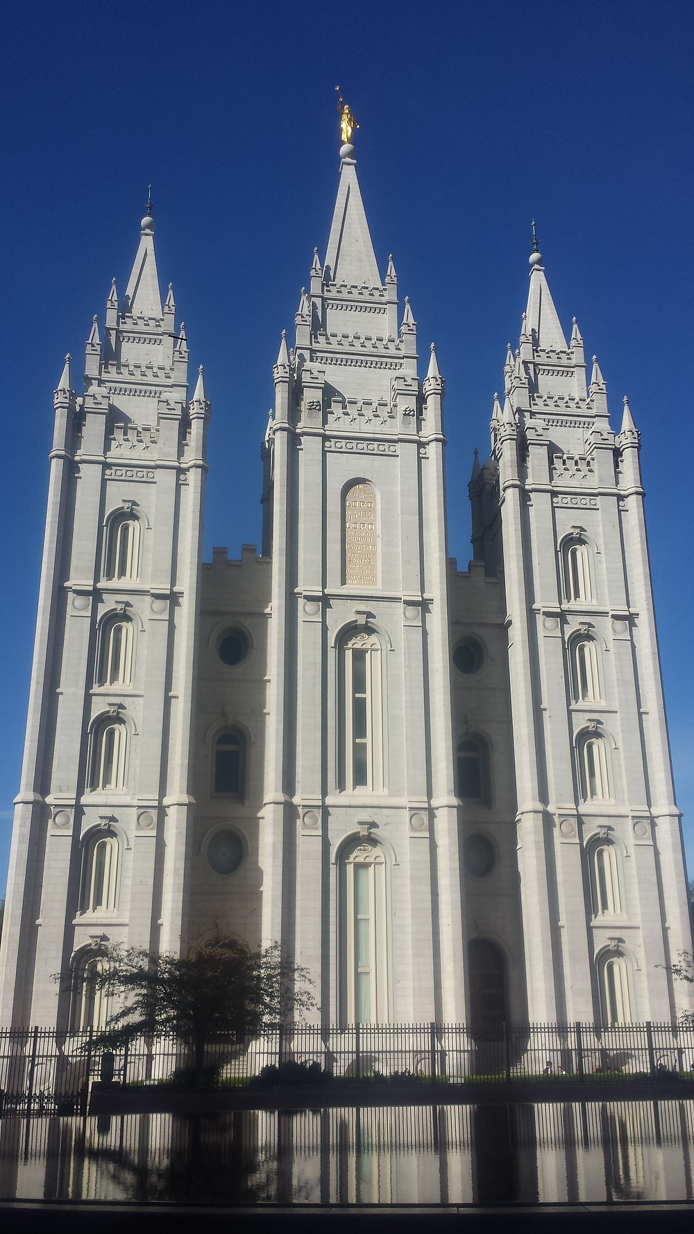 The Mormons' main temple in Salt Lake City. A kind of Mormon Mecca.