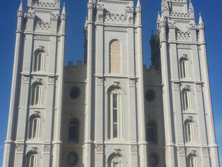 The Mormon Mecca (Salt Lake City)