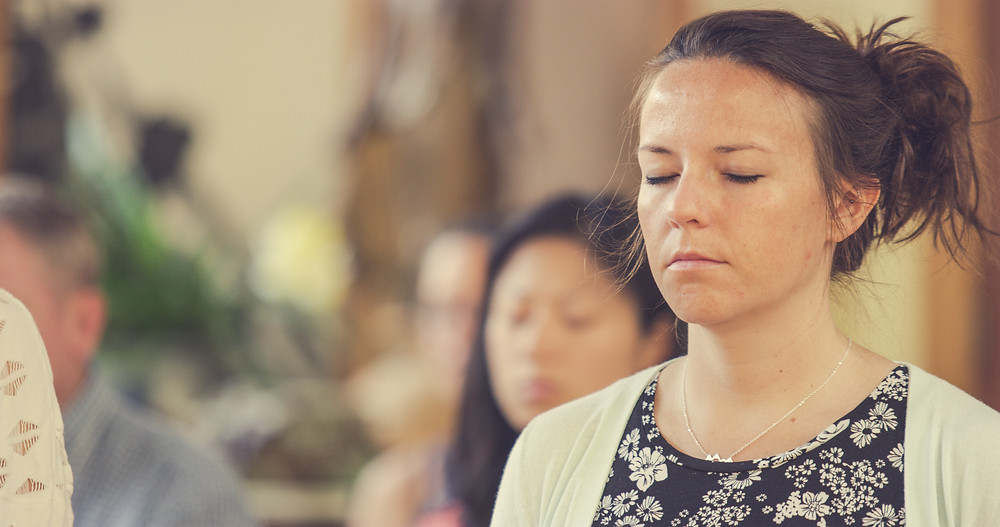 Meditating at the Toronto Zen temple