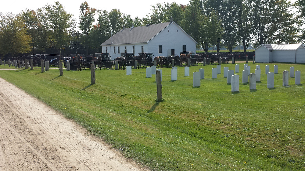 Old Order Mennonite church and graveyard