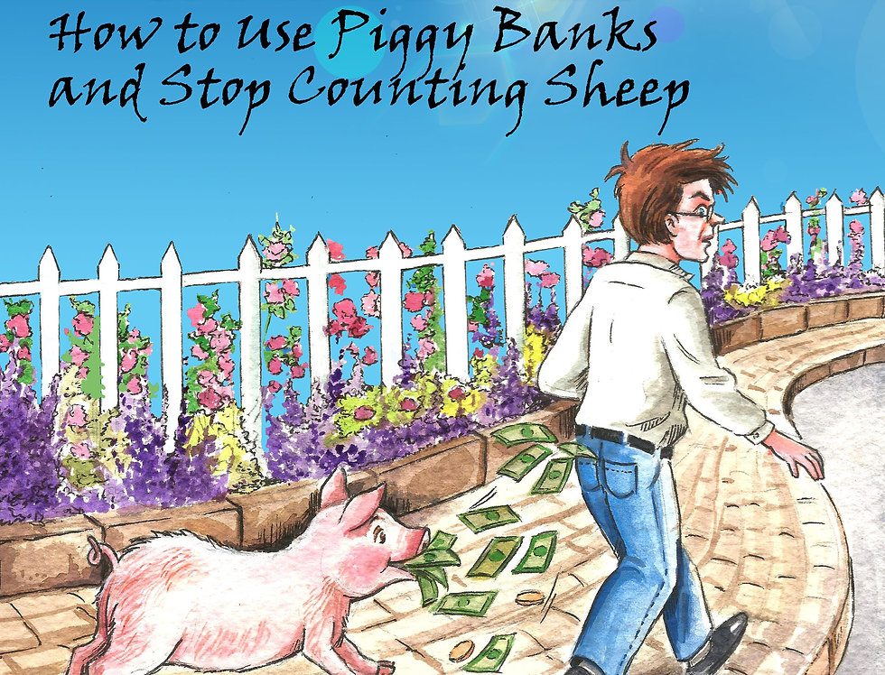 Pandemic Budgeting & Finances: How to Use Piggy Banks and Stop Counting Sheep