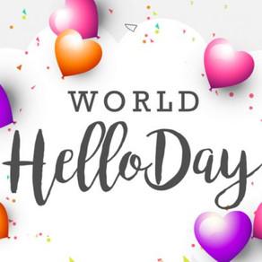 Celebrate World Hello Day