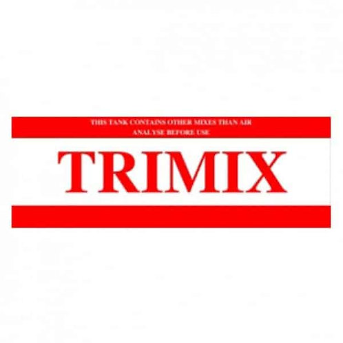 Trimix Tüp Sticker'ı
