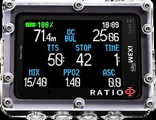 Ratio iX3M teknik dalış bilgisayarı