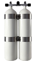 Çiftli dalış tüpü double tank cylinder