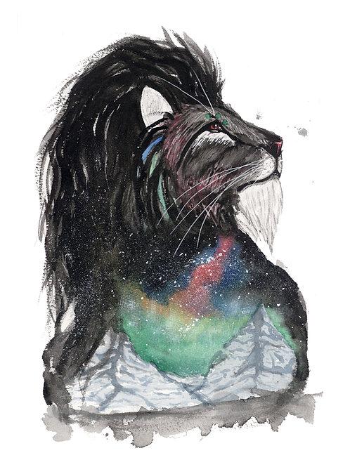 Aurora Lion - Print