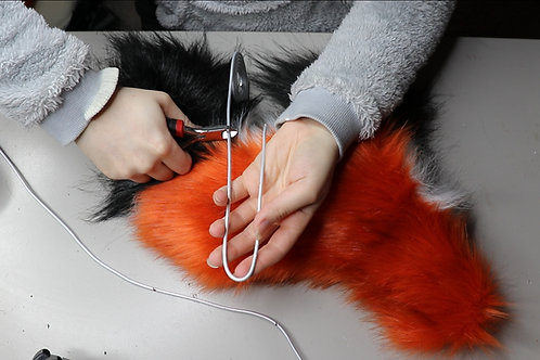 How to make a wire armature for artdolls