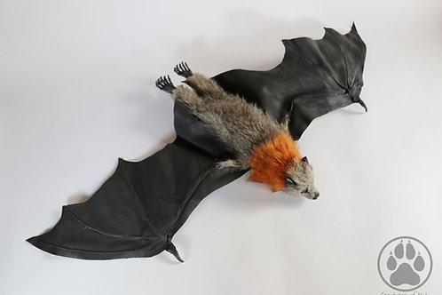 Grey and Rust Flying Fox - Artdoll OOAK