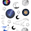Thumbnail: Celestial Sticker Sheet