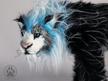 Inside Tenebris the Shadow Ice Lion