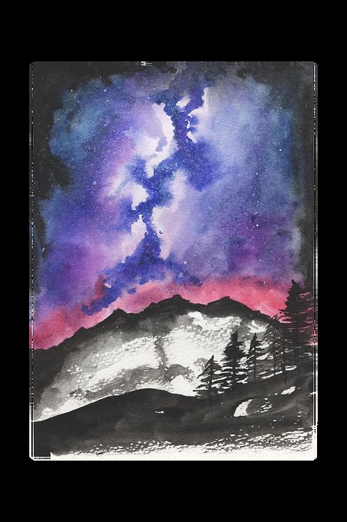 Printable - Pink Purple Galaxy