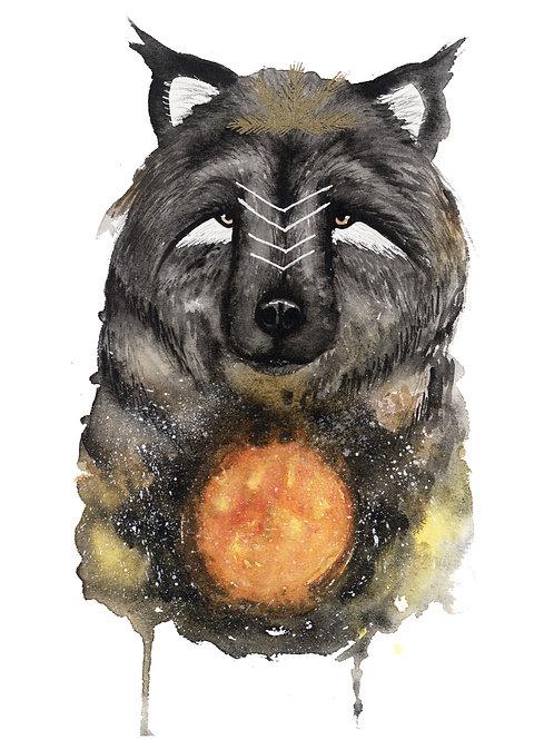 Sun Bear - Print