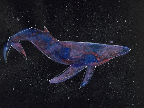 Printable - Constellation Whale