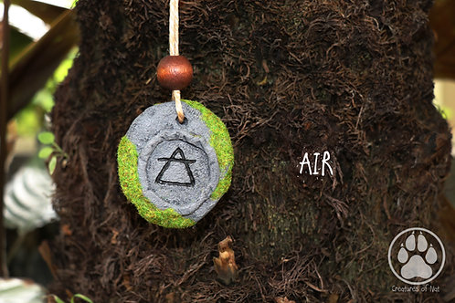 Resin Stone Talsiman Necklace - AIR