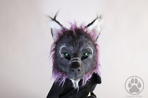 Spirit Wolf Mask - Resin