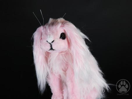 Inside Hana the Winter Blossom Bunny